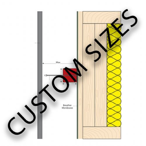 Cavity Seals - Custom Sizes